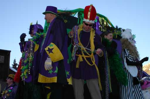 Mardi Gras royalty